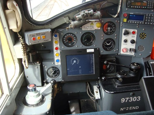 Drivers ERTMS equipment courtesy of Phil Marsh