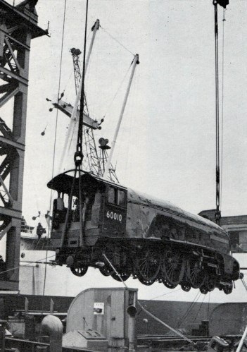 60010 royal victoria dock london on floating crane  April 10 1967 courtesy of Phil Marsh