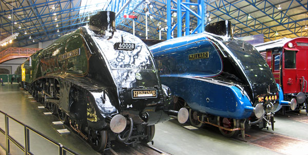 Nos. 60008 and 4468 at the NRM courtesy Paul of Bickerdyke