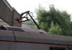 1 damaged pantograph on a class 92 courtesy of Phil Marsh