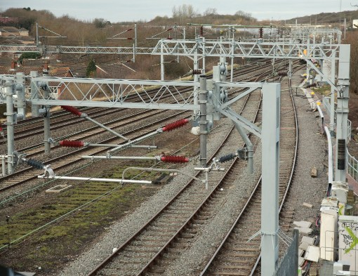 7 new overhead line eqiuipment and track courtesy of Phil Marsh