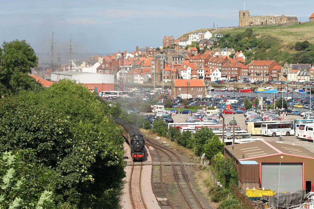 whitby NYMR_train_departure by Cliff_Thomas