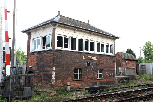 Henwick signalbox courtesy of Jack Boskett