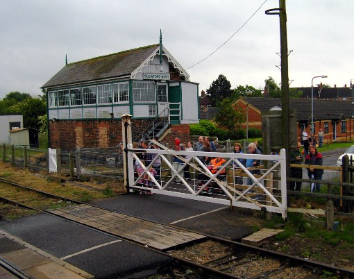 Victorian Signalbox and Gates courtesy of Phil Marsh
