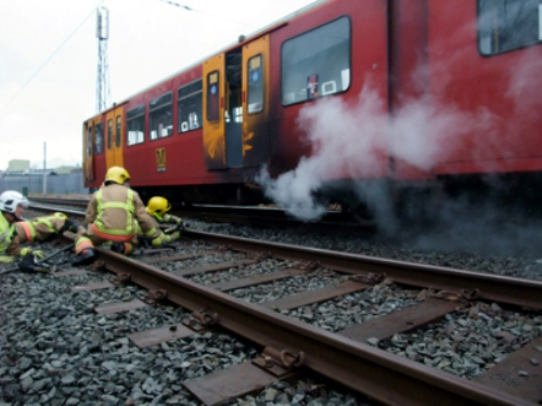 South Gosforth train fire courtesy of RAIB
