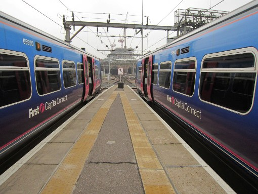 FCC trains at Kings cross courtesy of  Phil Marsh