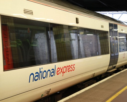National Express C2C train courtesy of Phil Marsh