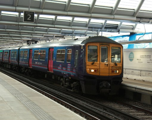FCC Thameslink train at Blackfriars courtesy of Phil Marsh
