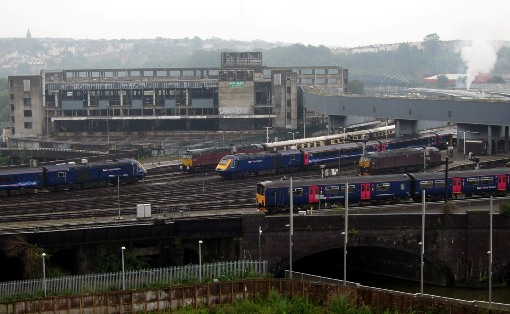 FGW trains at Bristol courtesy Phil Marsh