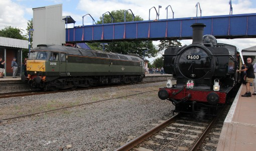 vintage trains pannier 9600 and 47773 courtesy of Phil Marsh