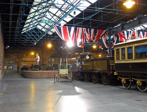 The flags are flying in Station Hall courtesy Paul Bickerdyke