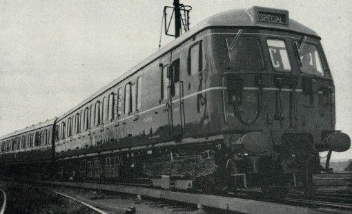 1959 modernisation new wolverton built emu. Courtesy of the Phil Marsh collection