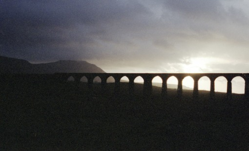 1982 ribblehead viaduct by Geoff Marsh
