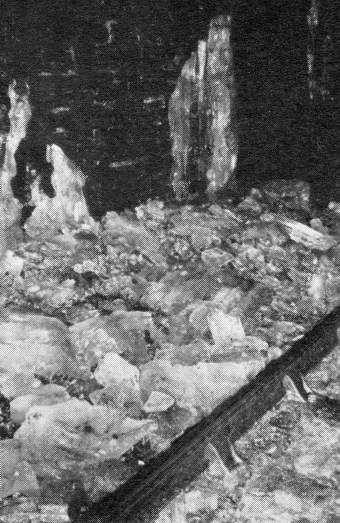 2) 1963 Ice in tunnel. Courtesy of the Phil Marsh collection