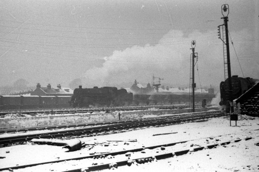 3) Steam and snow. Cortesy of Geoff Marsh