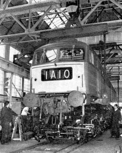 8 1963 diesel locomotive building underway. Courtesy of Phil Marsh Collection.