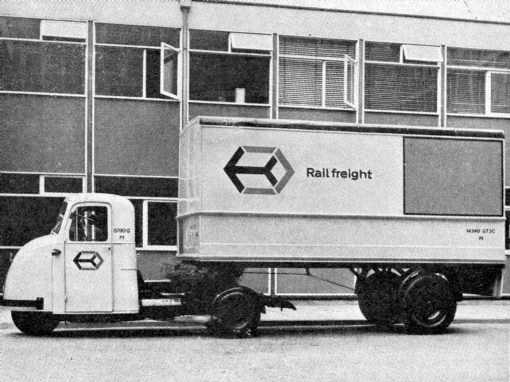 10) 1963 goods vehicle. Courtesy of the  Phil Marsh collection.