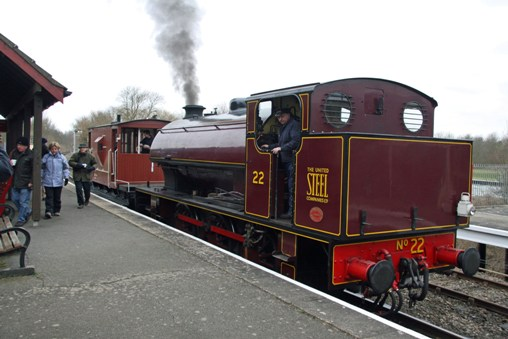 NVR Orton Mere loco brake van. Courtesy of Cliff Thomas