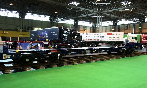 7 road and rail display at Multimodal. Courtesy of Phil Marsh