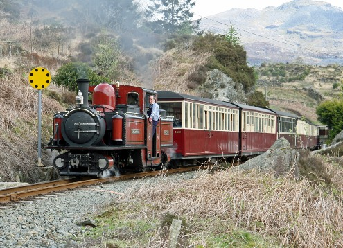 Ffestiniog1. Courtesy of Cliff Thomas