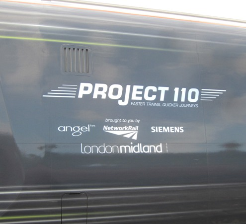 Project 110 train. Courtesy of Phil Marsh