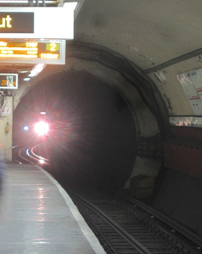 Light in the tunnel. Courtesy of Phil Marsh