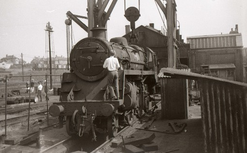 1960s beechings legacy - steam fans take a last look. Courtesy of Geoff Marsh