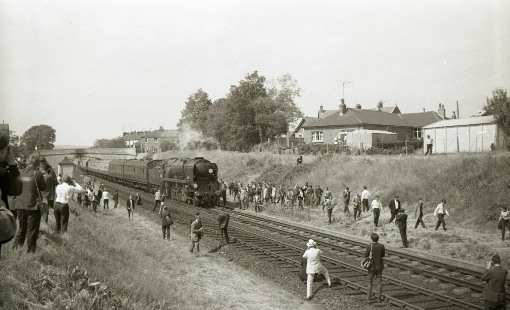 1967 one of the many last trains. Courtesy of Geoff Marsh