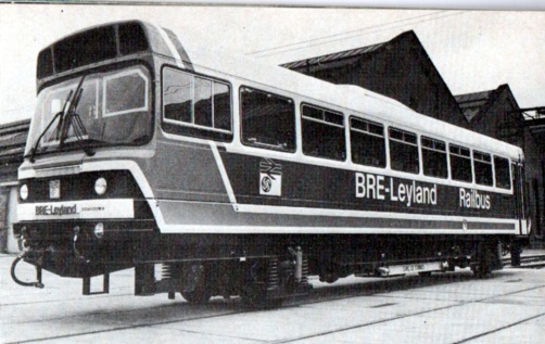 1981 experimental train built at derby. Courtesy Phil Marsh collection