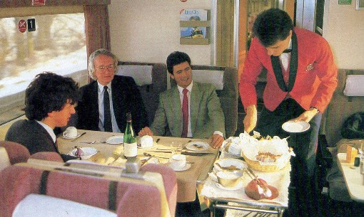 1986 intercity dining. Phil Marsh collection