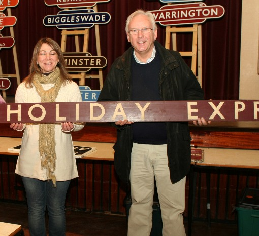 7 Pete Waterman buys Wolverton carriage boards. Courtesy of  Phil Marsh