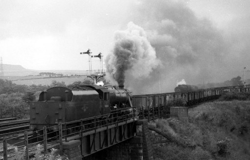 1968 Coal Train at Padiham. Courtesy of Geoff Marsh