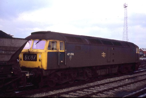 1976 coal train at Cardiff. Courtesy of Phil Marsh
