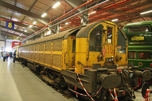LT Museum Acton Underground Locomoive. Courtesy of Cliff Thomas