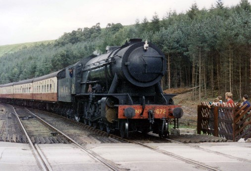 Pickering train in 1992 . Courtesy of  Phil Marsh