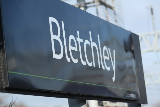5 Bletchley sign. Courtesy of Phil Marsh