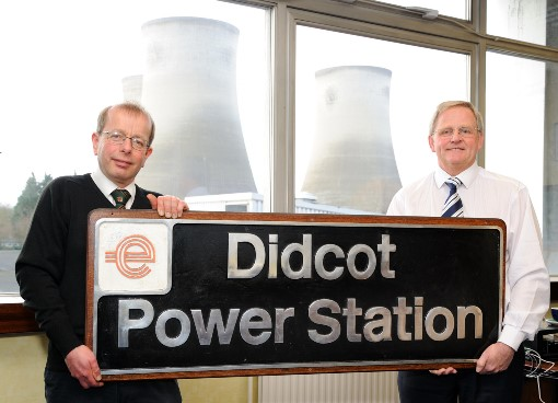3 Power Station nameplate presentation. Courtesy of  GWS Didcot