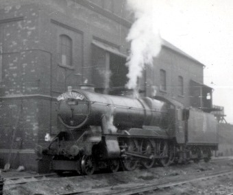 8 county locomotive. Courtesy of the Phil Marsh collection