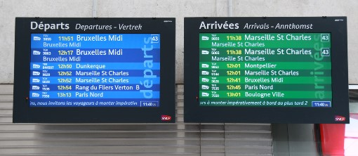 Lille train service. Courtesy of Phil Marsh