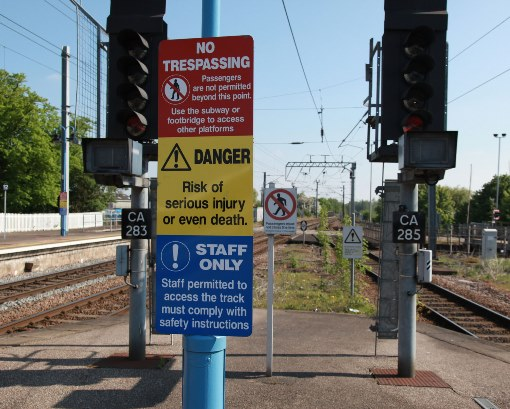 1 Danger signs. Courtesy of Phil Marsh