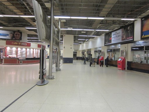 6 The old new street concourse. Courtesy of Phil Marsh