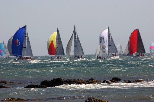 4 Round the island race. Courtesy of Phil Marsh