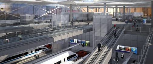 9 Birmingham Curzon Street station interior as it could look from HS2