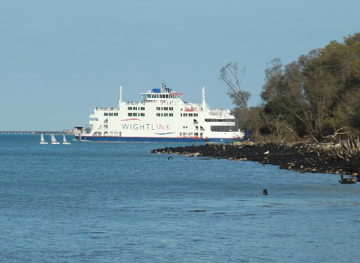 6 Wightlink car ferry by Phil Marsh