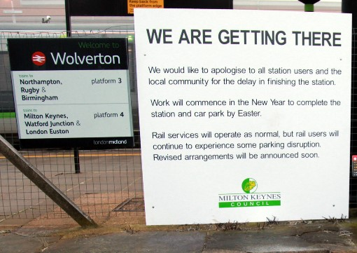 6 wolverton delay notice by Phil Marsh