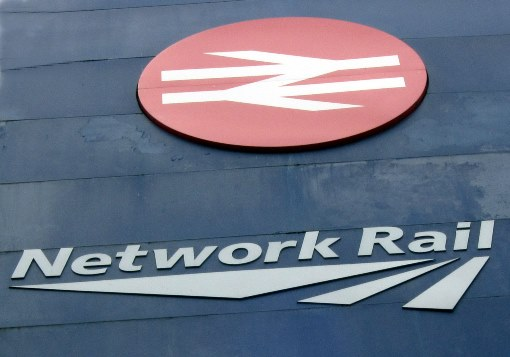 Network Rail logo. Courtesy of Phil Marsh