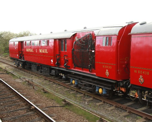 6 travelling Post office at Quorn. Courtesy of Phil Marsh
