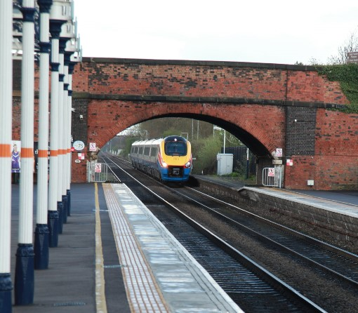8) In a few years this train will be under the new bridge. Courtesy of  Phil Marsh