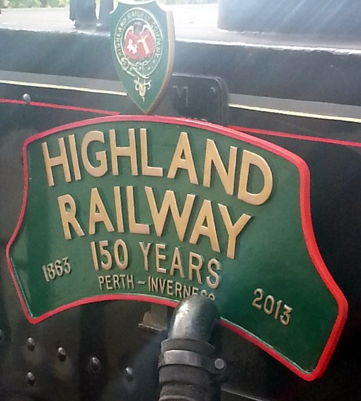 1 Highland Main Line 150 board. Courtesy of  Allan McLean