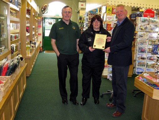 1 IWSR BuyWithConfidenceCertificate presentstion Courtesy of IW Steam Railway